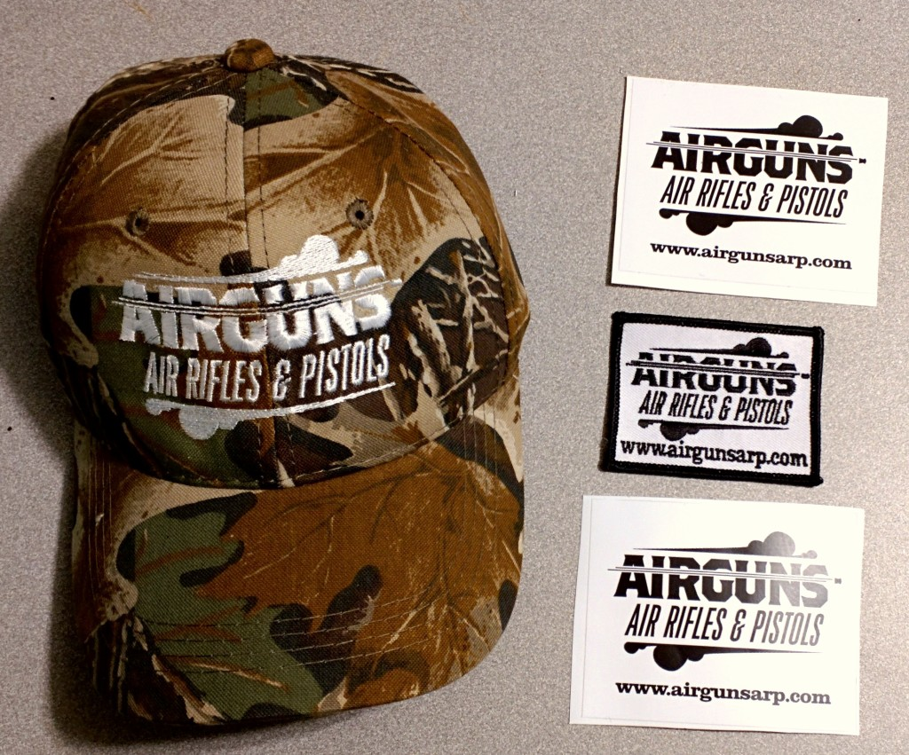 Get your Hat, Parch and Two Decals today!