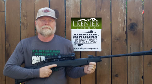 Dale S. with his Game Silentcat from Trenier Outdoors and AirgunsARP.com