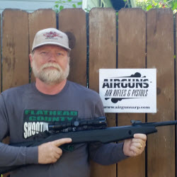 Dale S. and his Game Silentcat from Trenier Outdoors and AirgunsARP.com