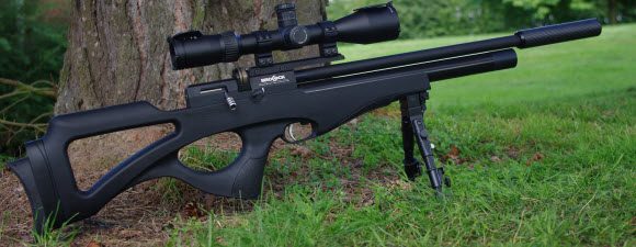 Forward accessory rail makes mounting a bipod easy
