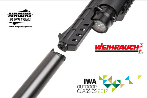 The Weihrauch HW44 PCP Repeater Pistol | Airguns: Air Rifles and Pistols